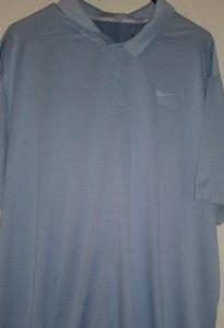 Nike Dri Fit golf shirt. Men's XXL. Excellent cond